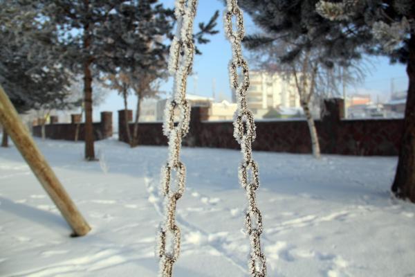 Doğu'yu Sibirya soğukları vurdu! Sıcaklık eksi 32!