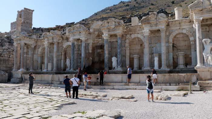 Burdur'un müze ve ören yerleri turistlerin uğrak noktası haline geldi - Resim: 1