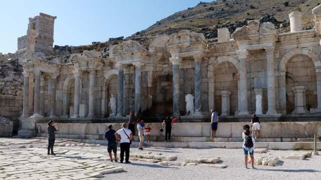 Burdur'un müze ve ören yerleri turistlerin uğrak noktası haline geldi