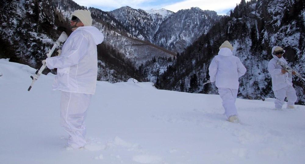 Karadeniz'de PKK'nın kış üslenmesine yönelik operasyon