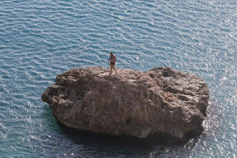 Antalya'da ocak ayında deniz keyfi - Resim: 3