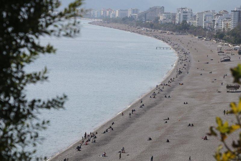 Antalya'da ocak ayında deniz keyfi - Resim: 4