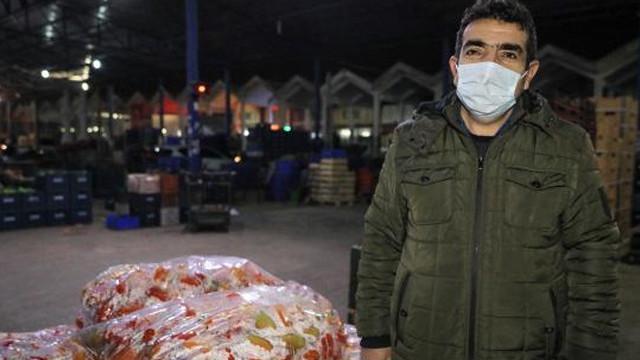 ''Sebze ve meyve fiyatını korsna komisyoncular yükseltiyor''
