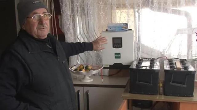 Kurduğu sistem sayesinde 8 yıldır elektriğe para vermiyor!