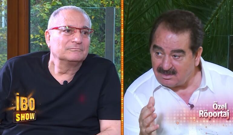 Mehmet Ali Erbil, İbo Show'da! Gözyaşları sel oldu