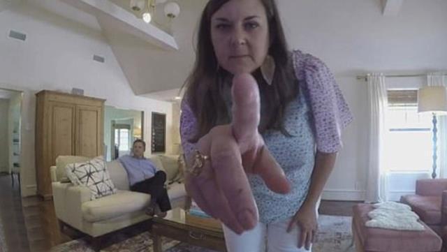Evlerine güvenlik kamerası taktığı kadınları izlemiş!