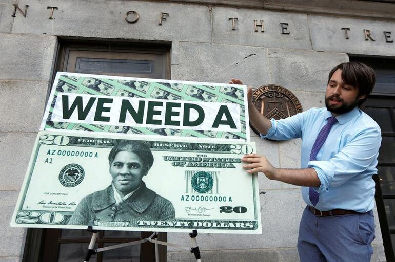 20 dolarlık banknotlar değişiyor!