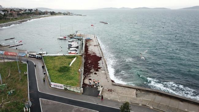 İstanbul'da Caddebostan Sahili kırmızıya büründü - Resim: 3