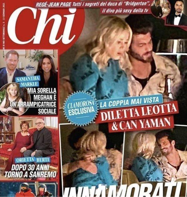 Can Yaman ve Diletta Leotta aşkı belgelendi!