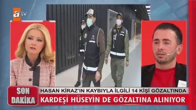 Müge Anlı'nın canlı yayınında gözaltına alındı