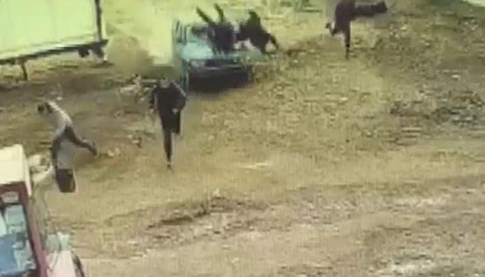 Mardin'de aksiyon filmlerini aratmayan kavga! Dehşet anları kamerada