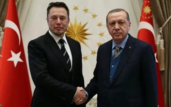 Erdoğan ile Elon Musk arasında sürpriz görüşme