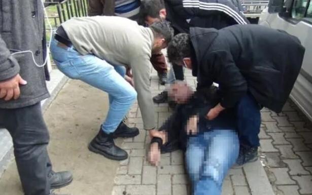 Emekli vatandaşın bankamatik başında kahreden ölümü