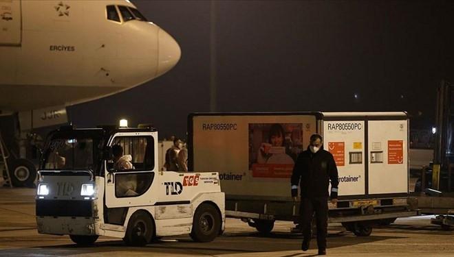 3,5 milyon doz koronavirüs aşısı daha Türkiye'ye geldi!