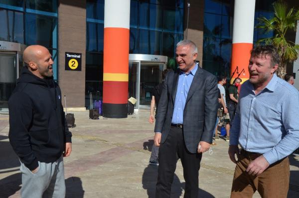 Bakan Ersoy, dünyaca ünlü aktörle buluştu