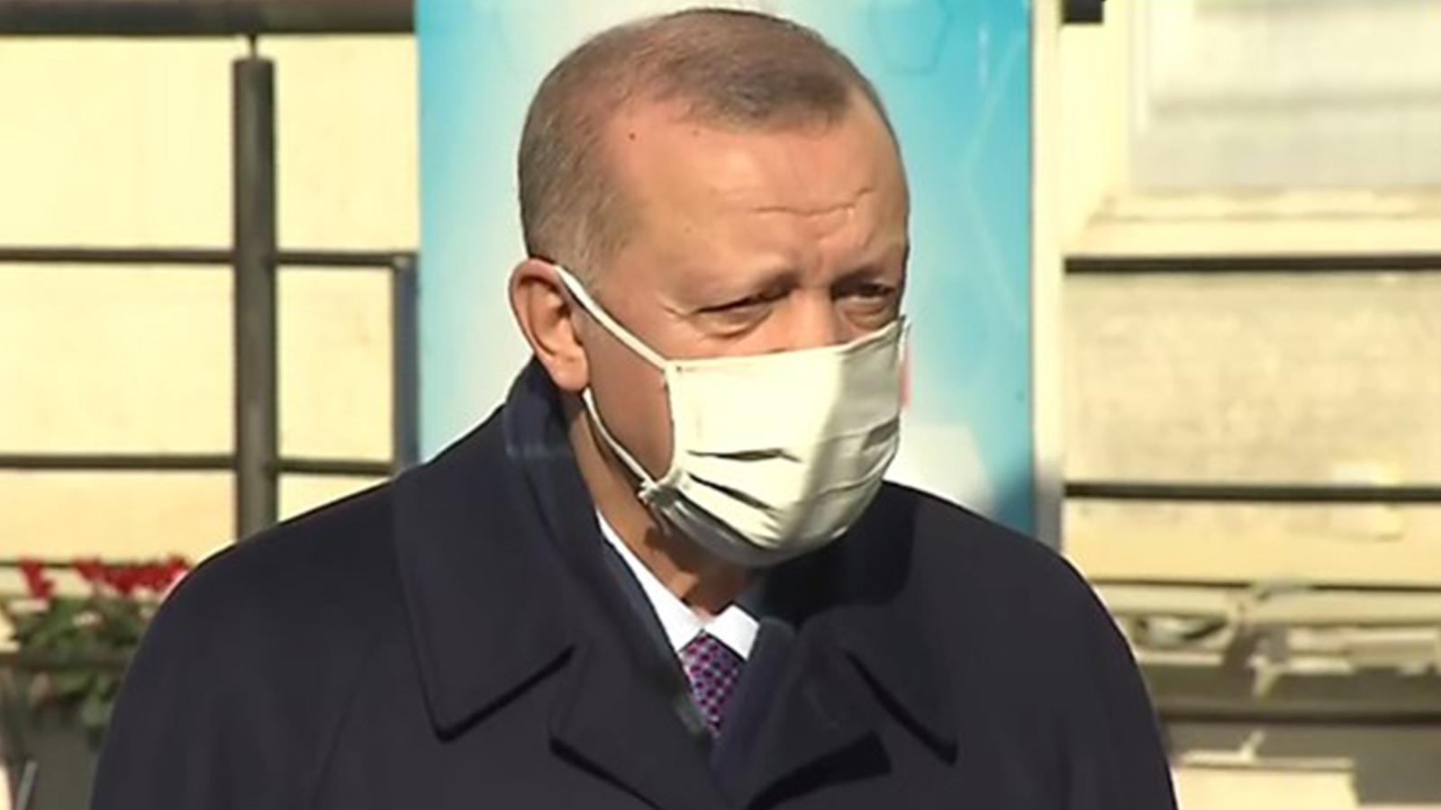 Erdoğan'dan koronavirüs kısıtlamaları için yeni açıklama