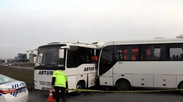 Tekirdağ'da korkunç kaza: 19 yaralı