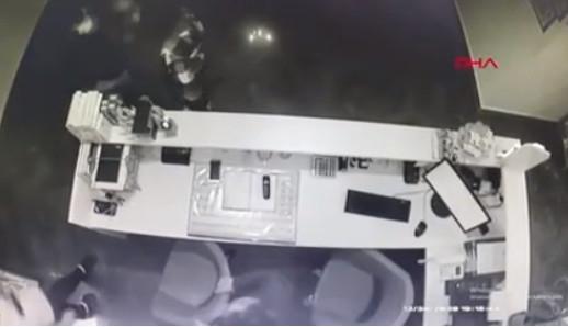İstanbul'da veteriner hekime saldırı anı kamerada