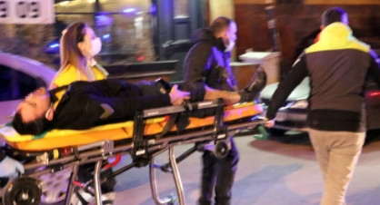 Ankara'da silah ve palalı saldırı! Yaralılar var