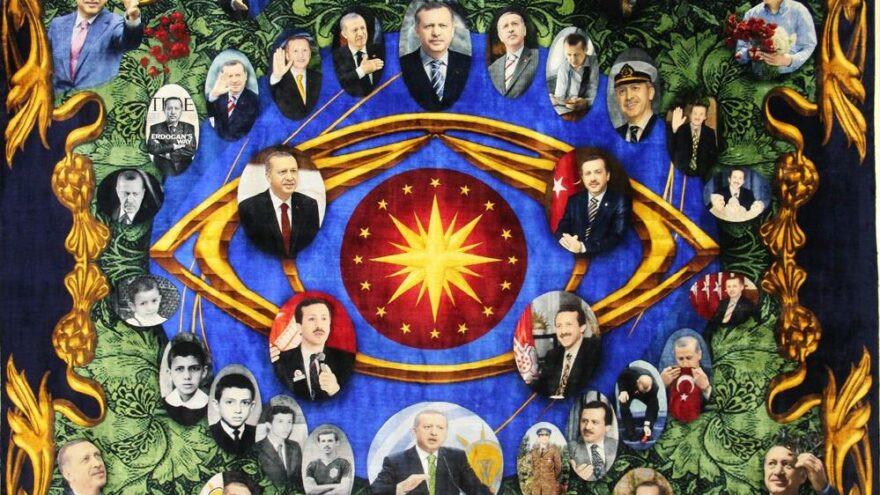Erdoğan'ı ''dokuyup'' Guinness'e aday oldu!