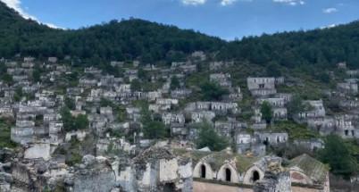 Türkiye'nin ''hayalet köyü'ne pandemide turist akını