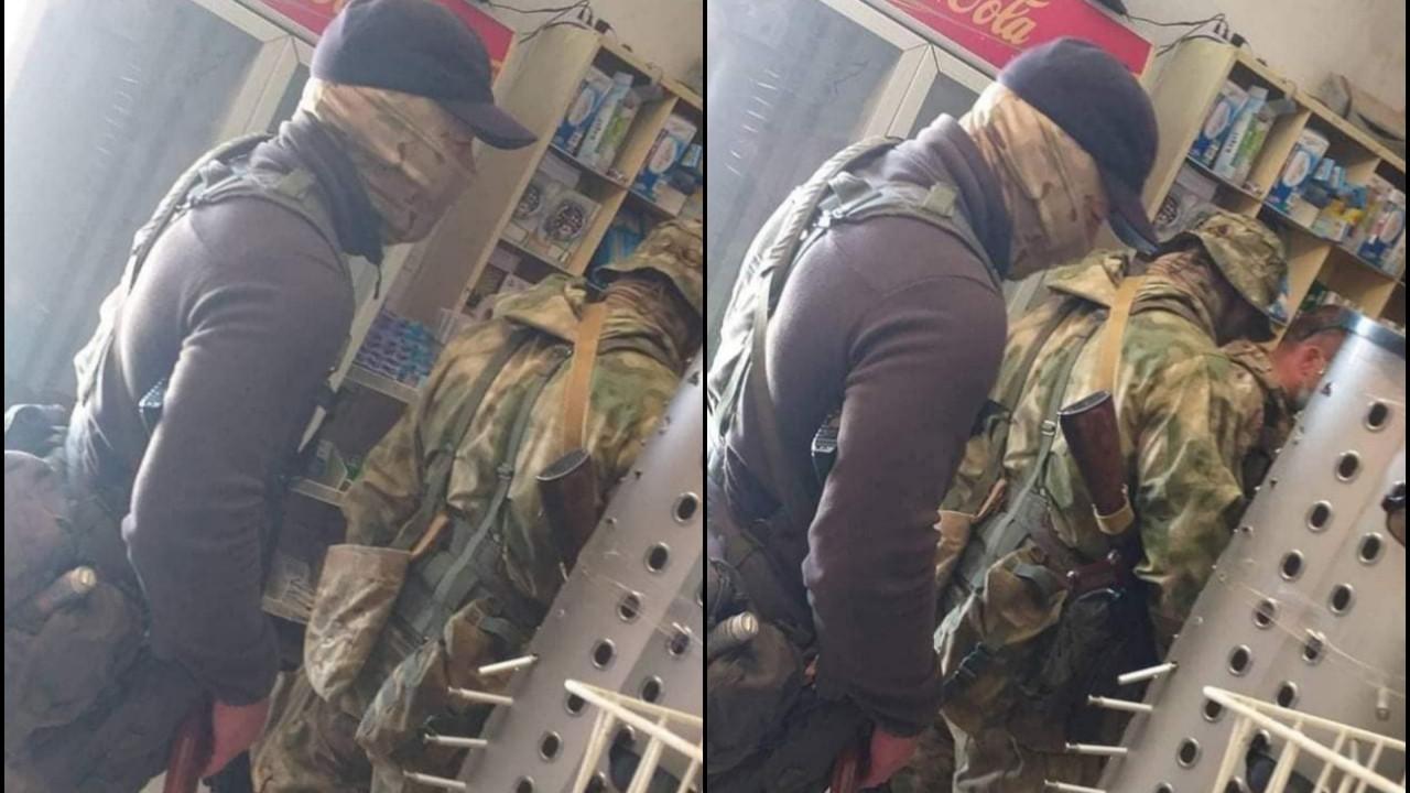 Hafter'in paralı askerleri böyle görüntülendi