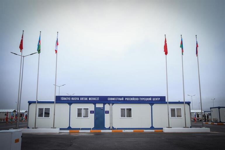 Dağlık Karabağ'da kurulan gözlem merkezi faaliyete geçti