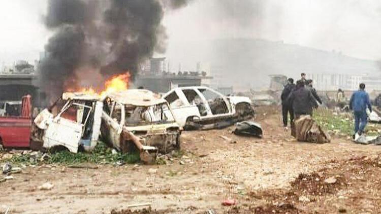 Afrin'de bombalı saldırı: Çok sayıda ölü ve yaralı var