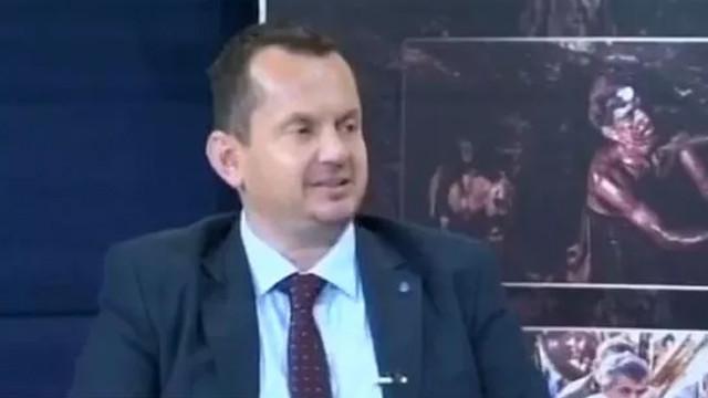 Deva Partisi il başkanı canlı yayında küfür etti