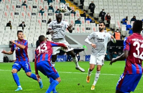 Beşiktaş'ın yenilmezlik serisini Trabzonspor bitirdi