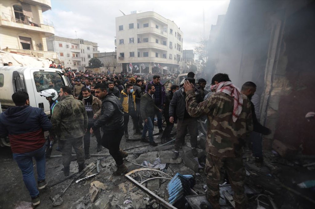 Suriye'de kanlı terör saldırısı: 10 kişi öldü, 24 yaralı var!
