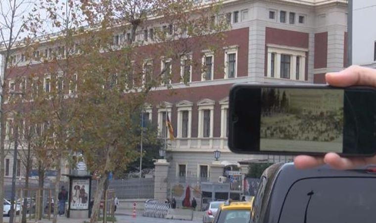 Şinasi'nin mezarı sonra Taksim'de bir binanın altından çıktı