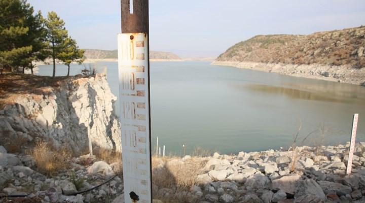 Başkent'in 110 günlük suyu kaldı