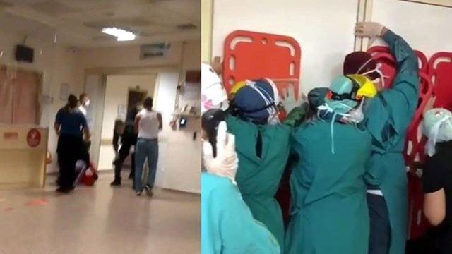 Hastanede sağlık çalışanlarına saldırı davasında yeni gelişme