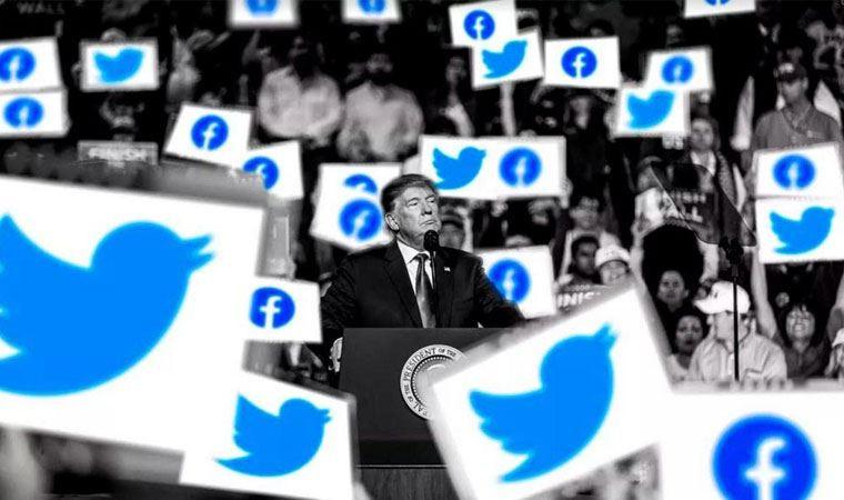 Facebook ve Twitter Trump'ın hesaplarını kapattı!