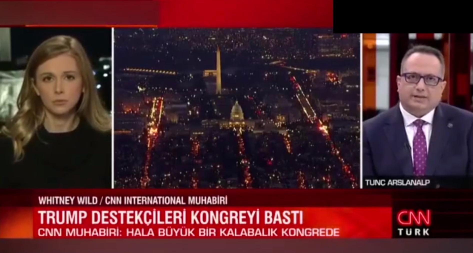 CNN Türk ekranlarında yine ilginç anlar: Demokrasi soruldu ve...