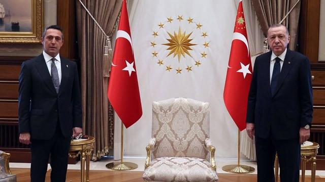 Ali Koç'tan Cumhurbaşkanı Erdoğan'a sürpriz ziyaret