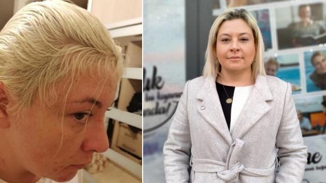Kuaförde saçını boyatan avukata büyük şok!
