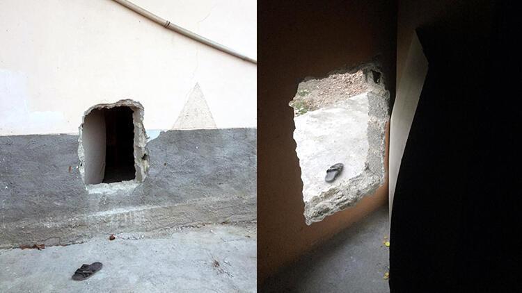Kumarbazlar sınır tanımadı! Duvara delik açmışlar