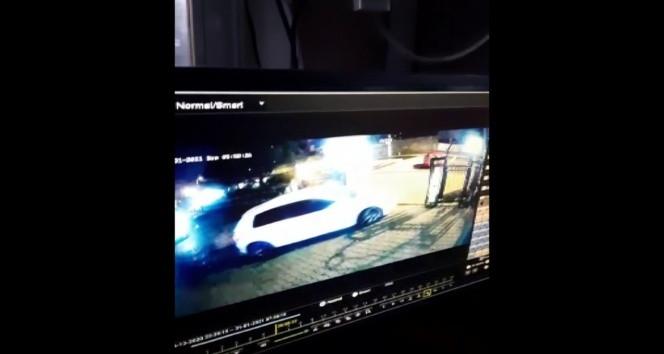 İstanbul'da ''pes'' dedirten hırsızlık kamerada!