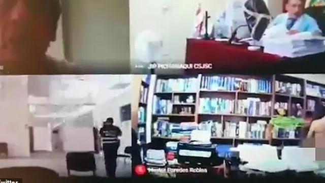 Kamerayı açık unutan avukat, müvekkiliyle cinsel ilişkiye girdi