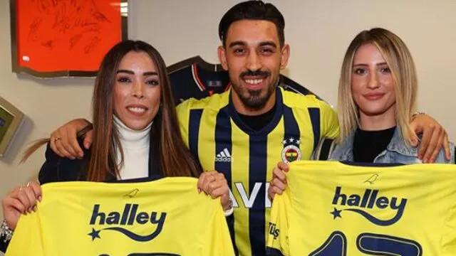 İrfan Can Kahveci'nin imza töreninde Galatasaray'a gönderme