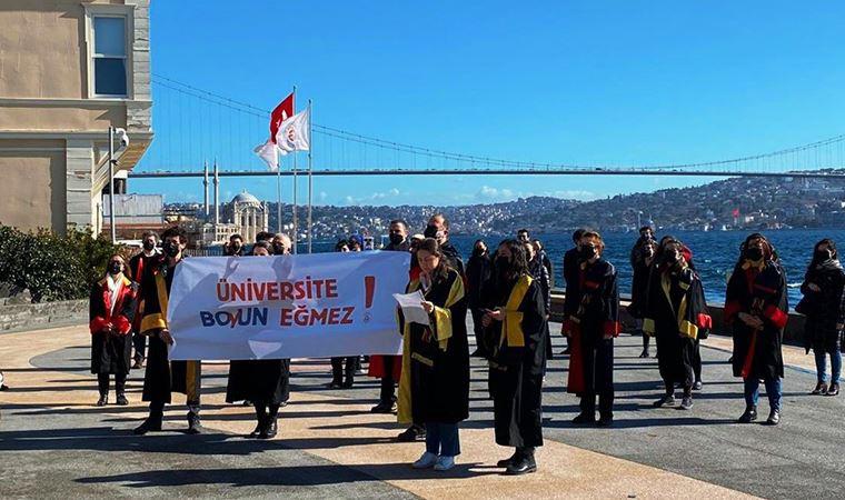 Galatasaray Üniversitesi hocalarından Boğaziçi'ne destek