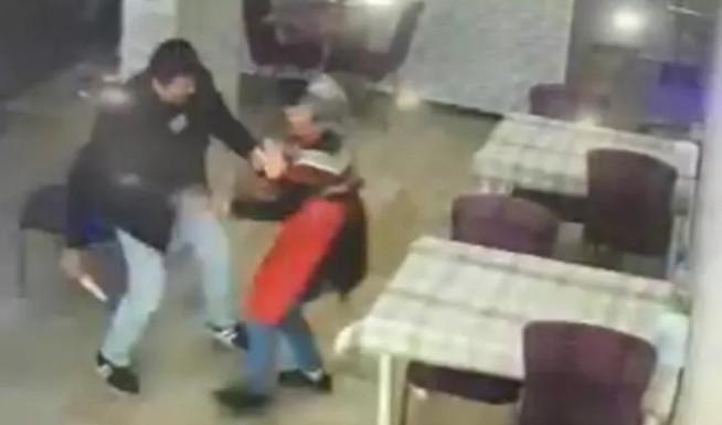 Dönercide ''indirim'' cinayeti! Kadını kameraların önünde öldürdü