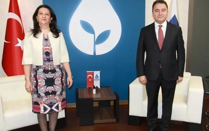 HDP'den DEVA Partisi'ne ziyaret