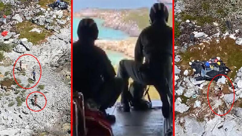 Issız adada 33 gün! Fare yiyerek hayatta kaldılar