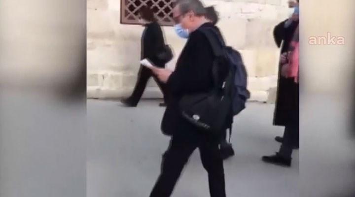 Boğaziçi'ne destek açıklamasına polis engeli