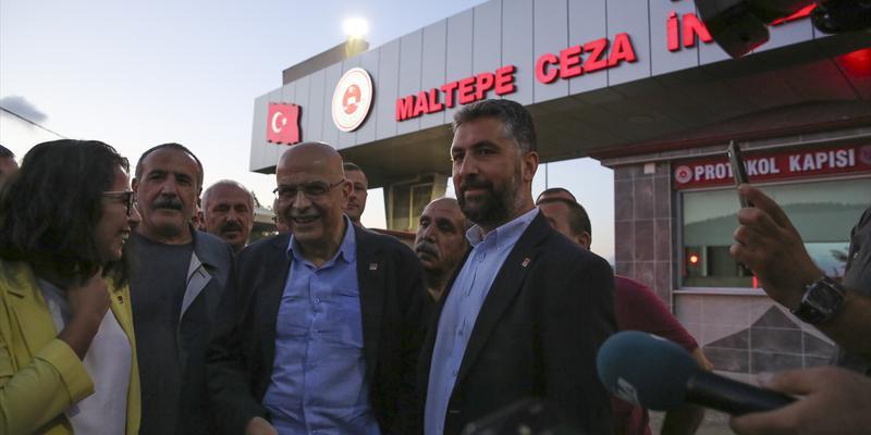 Enis Berberoğlu 8 ay sonra yeniden milletvekili oldu!