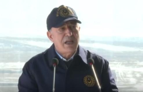 Bakan Akar: ''Sığınaklarını başlarına yıktık''