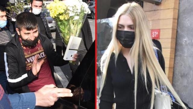 Aleyna Tilki para isteyen çiçekçiye kitap verdi